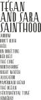 sainthoodtracklist
