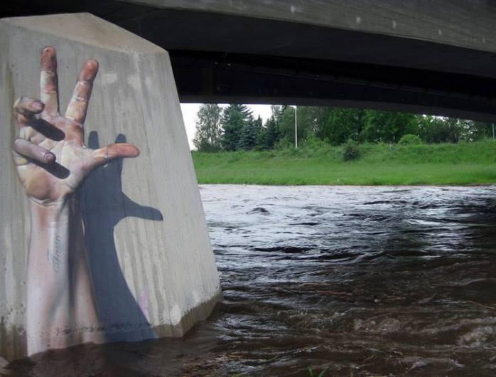 Street Art Hand